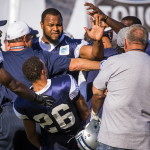 Dez Bryant And Tyler Patmon Fight:Cowboys Fans Boo