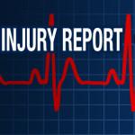 Thursday Injury Report. Whitehead DNP