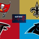 NFC South injury list
