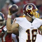 Kirk Cousins is so terrible that Washington media is calling for Colt McCoy to start vs the Buccaneers.