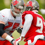 Tackle Reid Fragle will be on the active roster Sunday.