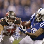 Buccaneers struggle against the Colts