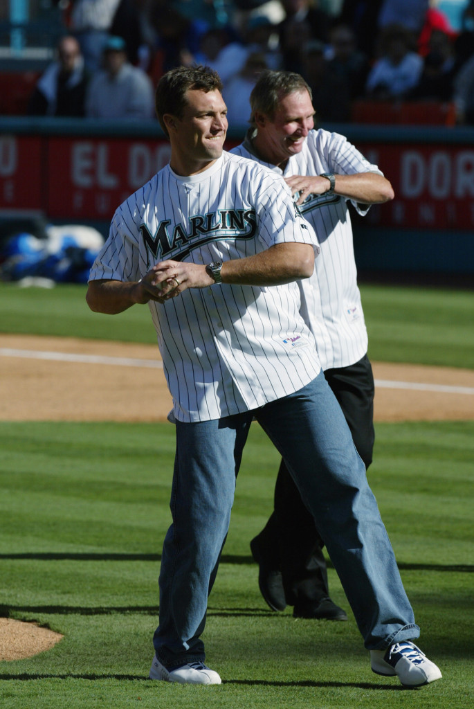 FUN FACT: A 1992 draft pick of the expansion Florida Marlins, John Lynch threw the first pitch in that organization's history for their minor league affiliate Erie Sailors.
