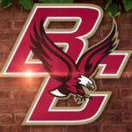 Boston College retires the jerseys of Matt Ryan and Luke Kuechly.