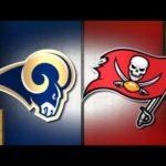 Rams vs Buccaneers injury report.
