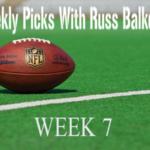 Week 7 picks are in!
