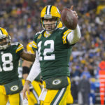 The Green Bay Packers win a wild game against Dallas.