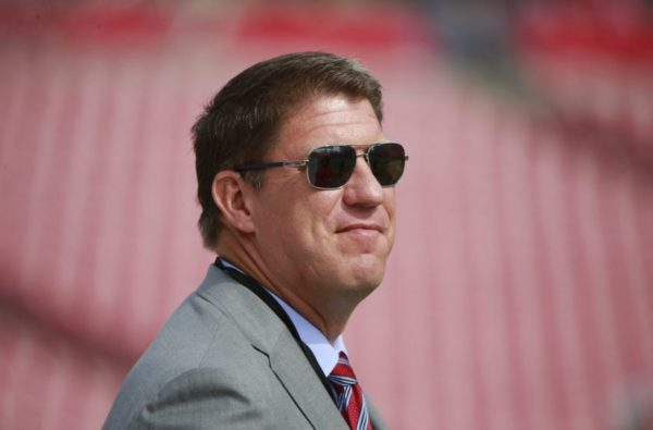 Is there a situation where the Buccaneers move up in the draft? General manager Jason Licht/via Licht/via Buccaneers.com