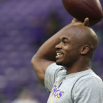 The Buccaneers and Adrian Peterson not likely to happen.