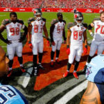 Titans and Buccaneers Joint Practices in the Mix