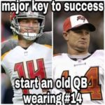 Is Having An Old QB Wear No. 14 The Key?