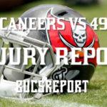 Game Day Injury Report