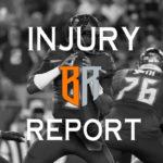 Week 15 Injury Report: Thursday