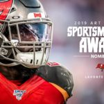 Lavonte David nominated for the Art Rooney Award