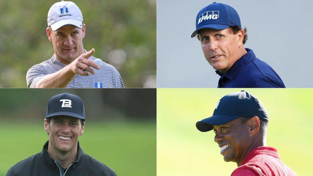 Woods/Mickelson/Brady/Manning