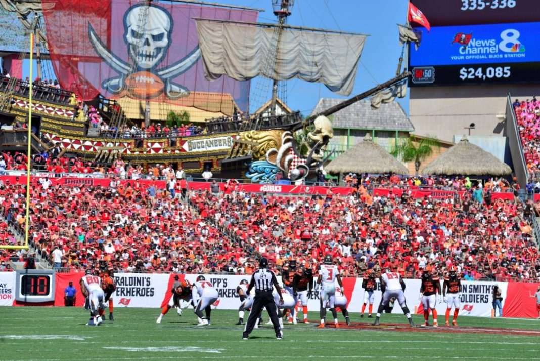 Raymond James Stadium/via StadiumJourney.com
