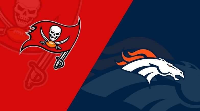 Buccaneers vs. Broncos/pinups.com