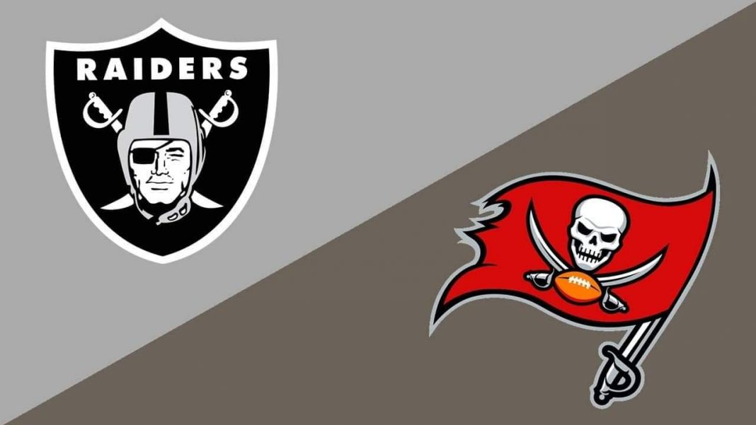 Buccaneers vs. Raiders/via MVP Sports