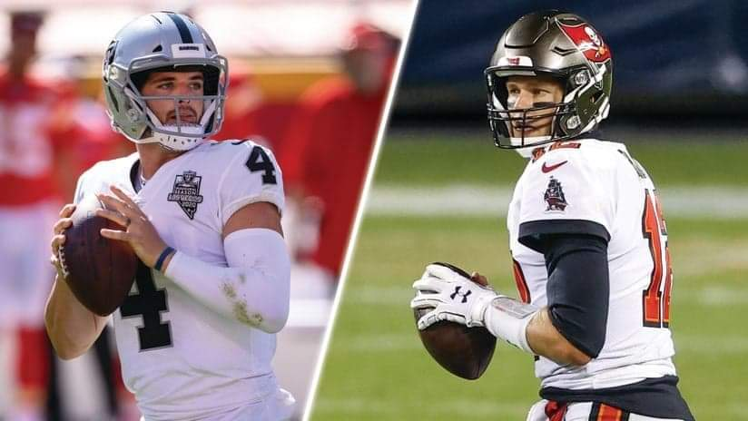 Buccaneers vs. Raiders/via Raiders.com