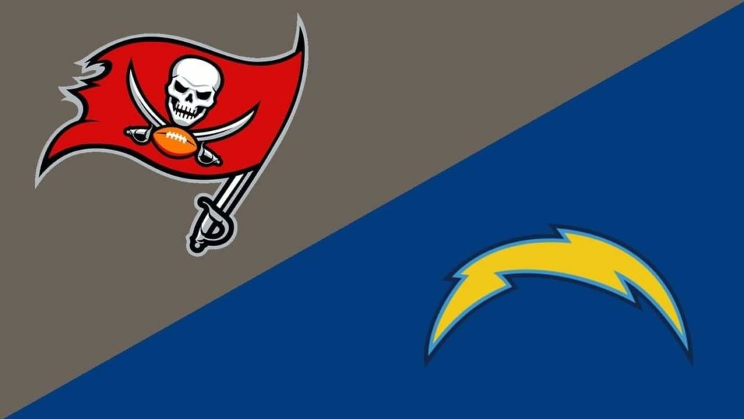 Buccaneers vs. Chargers/via MVP Sports