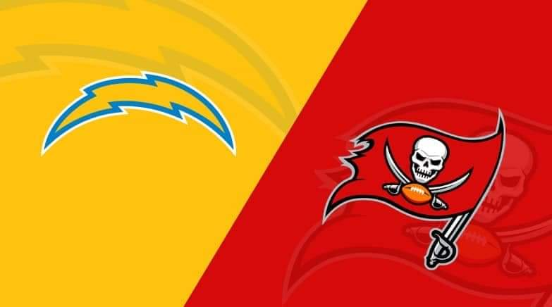 Buccaneers vs. Chargers/via lineups.com