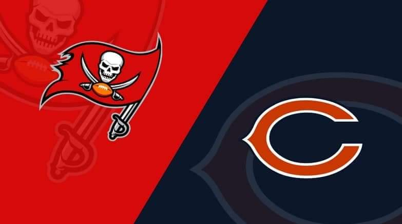 Buccaneers vs. Bears/ via lineups.com