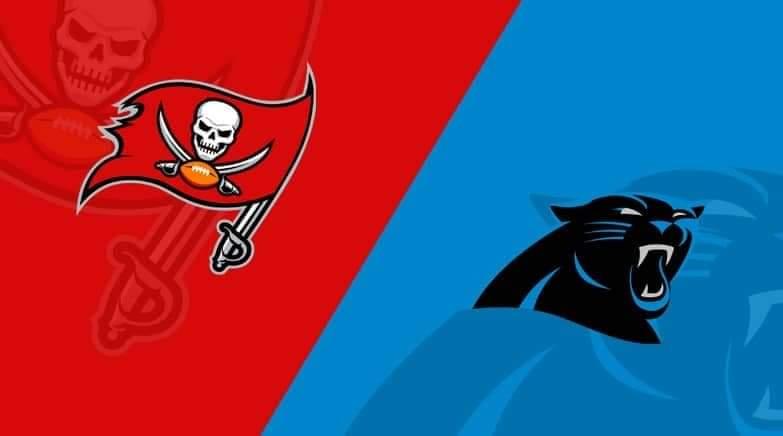 Buccaneers vs. Panthers/via lineups.com