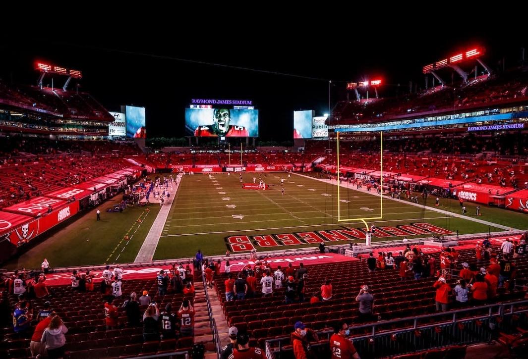 Raymond James Stadium/via buccaneers.com