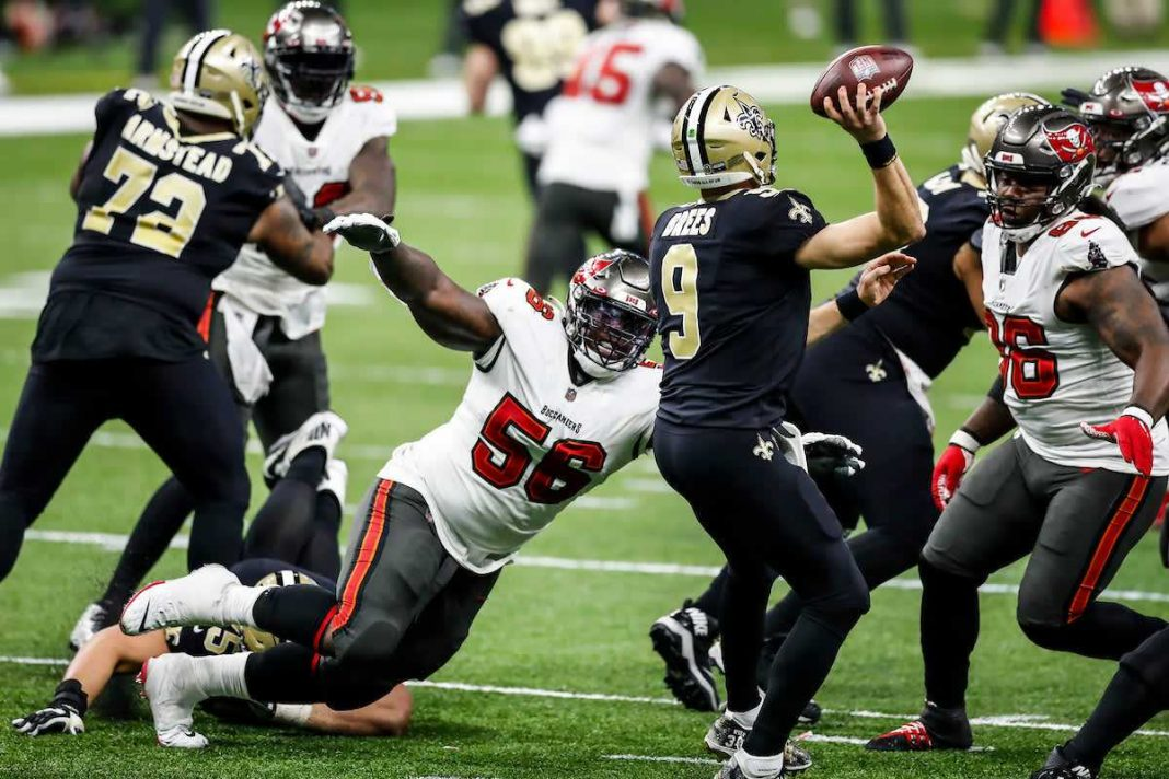 Buccaneers vs. Saints/via buccaneers.com