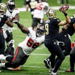 Defense Leads Buccaneers Over New Orleans 30-20