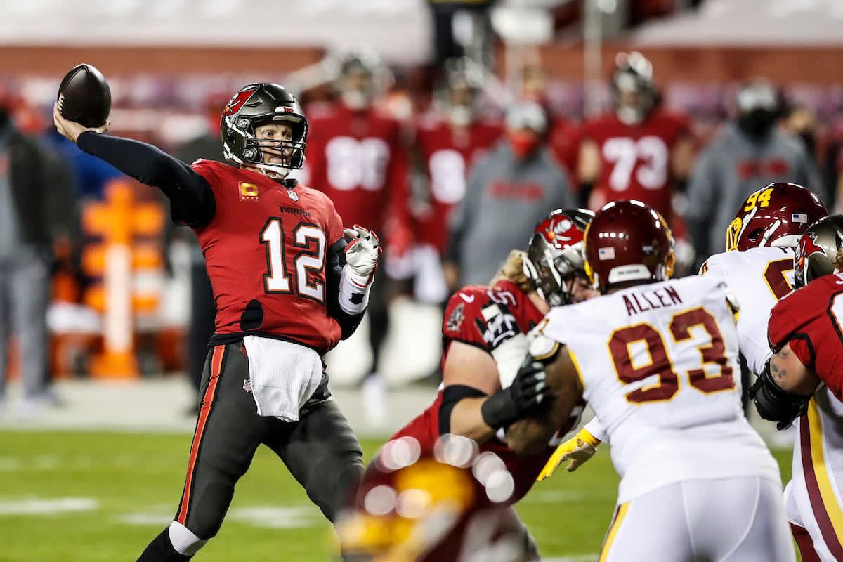 Tom Brady via Buccaneers.com