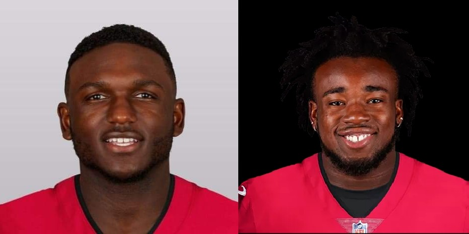 Chris Godwin and Ronald Jones/via buccaneers.com
