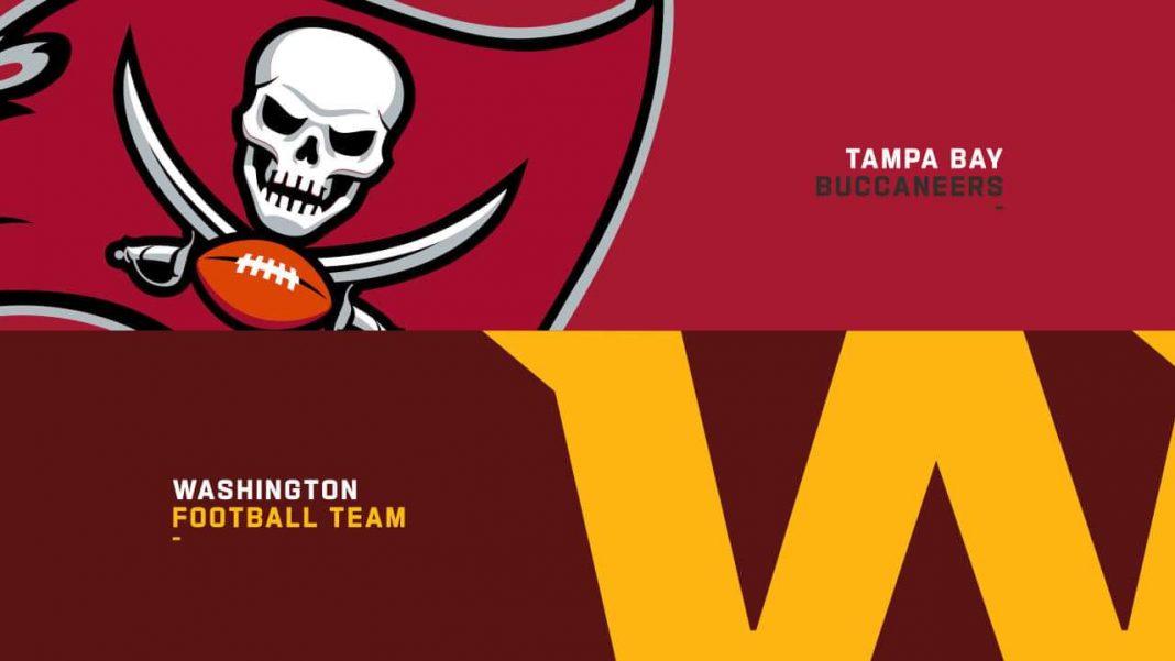 Buccaneers at Football Team/via NFL.com