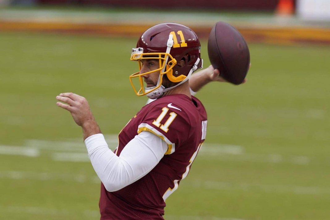 Washington quarterback Alex Smith/ via Steve Helber/Associated Press