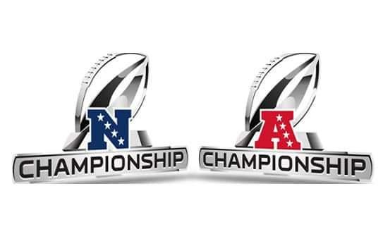 NFC & AFC Conference Championships/via NFL.com
