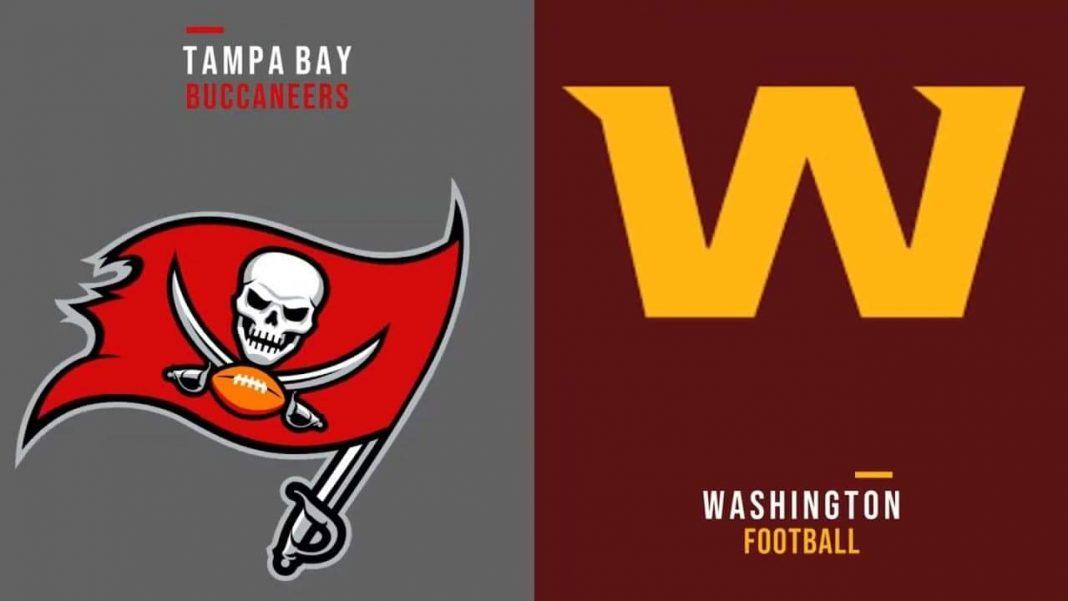 Tampa Bay Buccaneers vs. Washington Football Team/via BigOnSports