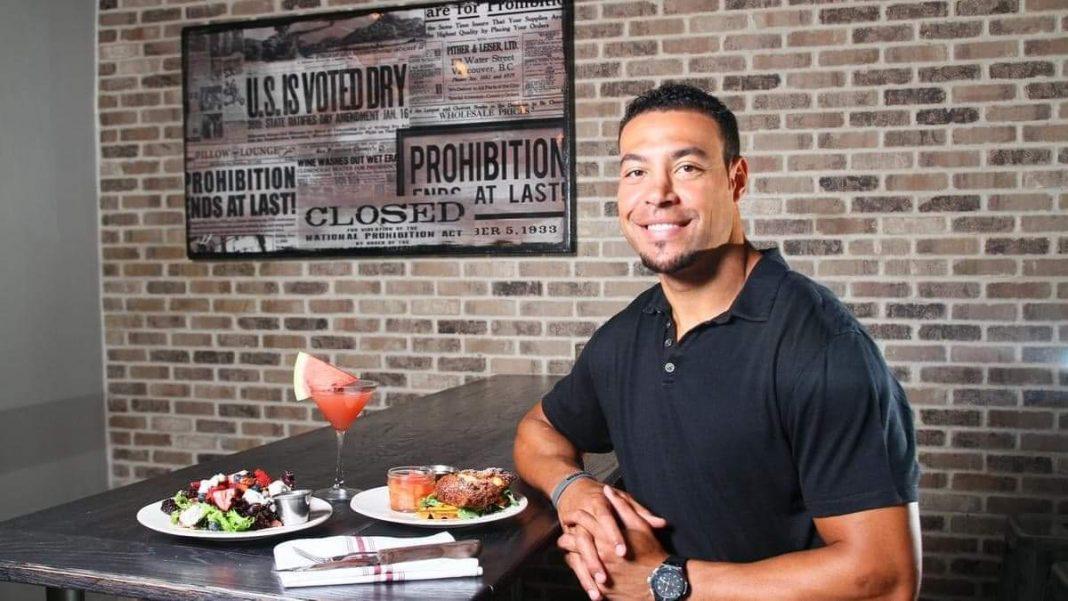 Vincent Jackson inside Cask Social Kitchen in South Tampa/ via NOLA LALEYE