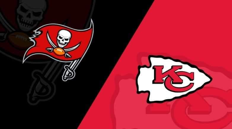 Buccaneers vs. Chiefs/via lineups.com