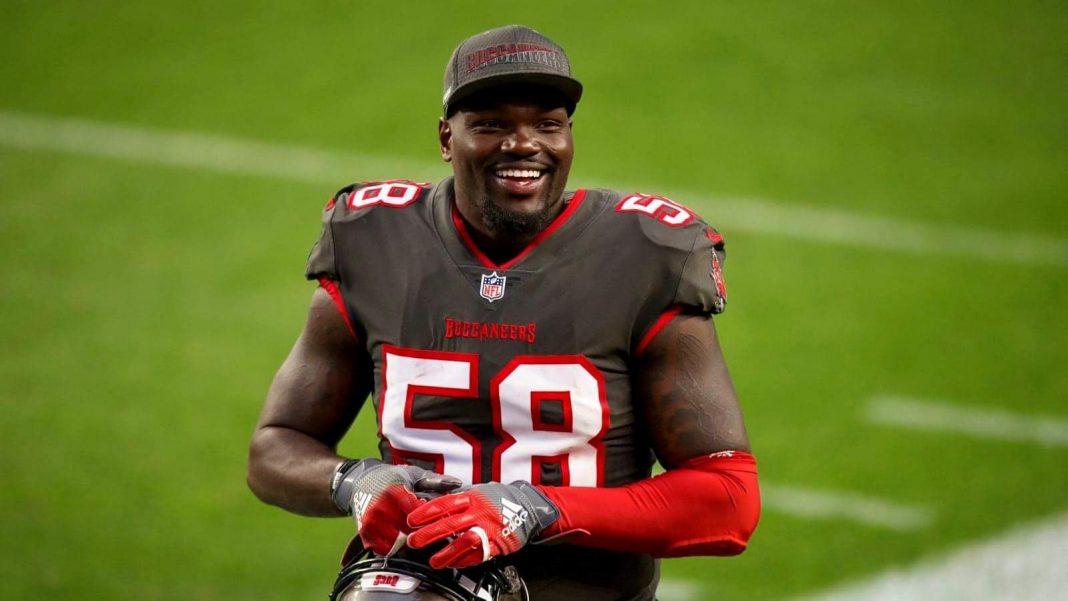 Outside Linebacker Shaq Barrett/ via Justin Edmonds,Associated Press