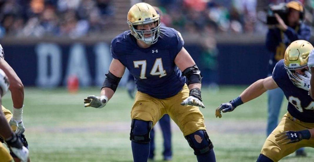 Notre Dame's Liam Eichenberg/via 24/7 Sports