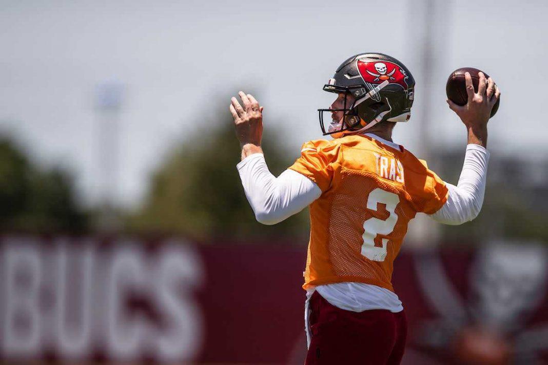 Buccaneers rookie quarterback Kyle Trask/via buccaneers.com