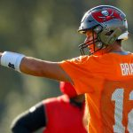 Tom Brady Is Back Throwing at One Buc Place