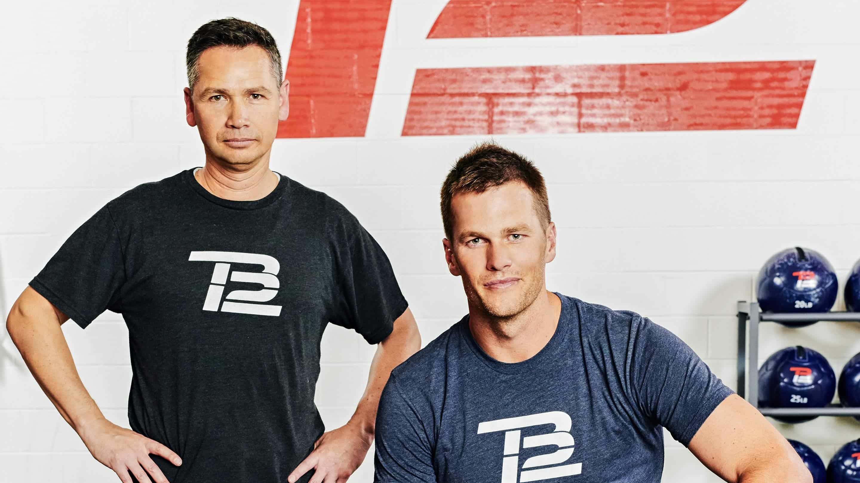 Tom Brady and Alex Guerrero/ via tb12sports.com