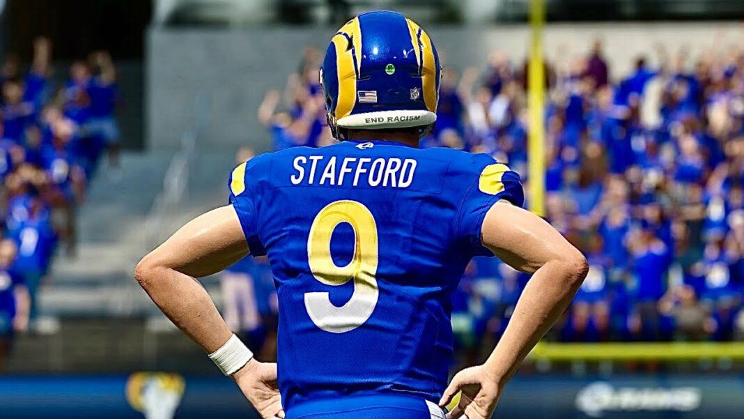 L.A. Rams quarterback Matt Stafford/via EA Sports