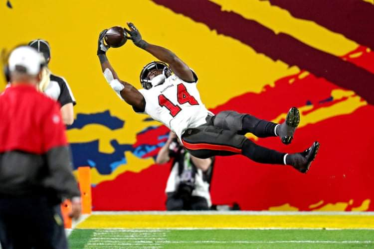 Buccaneers wide receiver Chris Godwin/via The Pewter Plank