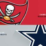 A Look Ahead to Week 1 of the 2021 Season: Cowboys at Buccaneers