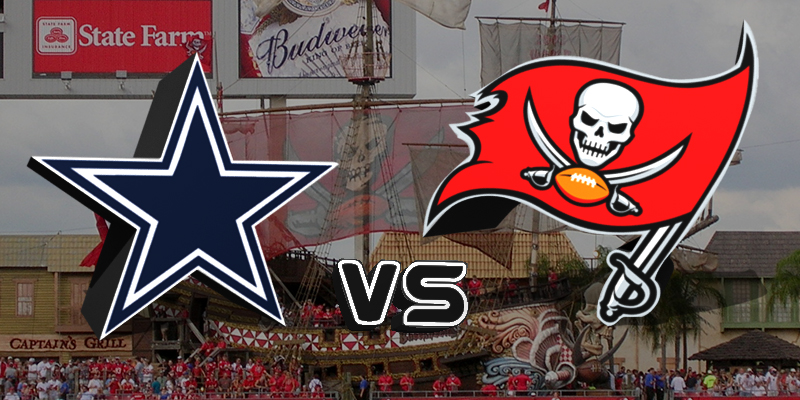 Dallas Cowboys vs. Tampa Bay Buccaneers/via Sports Talk Florida