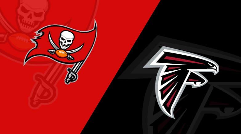 Tampa Bay Buccaneers vs. Atlanta Falcons/via lineups.com