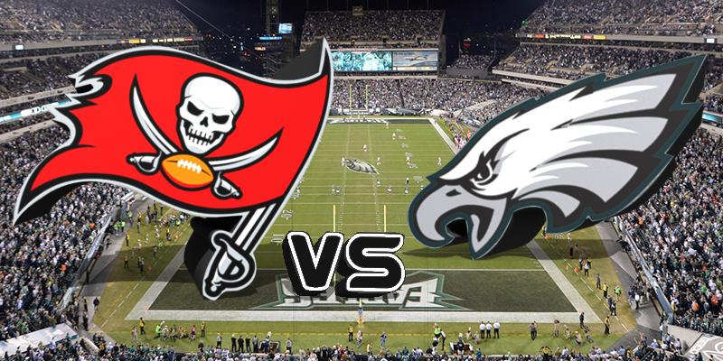 Buccaneers vs. Eagles/via Sports Talk Florida